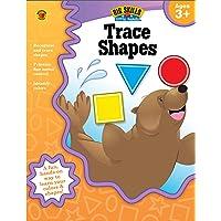 Trace Shapes Workbook, Grades Preschool - K