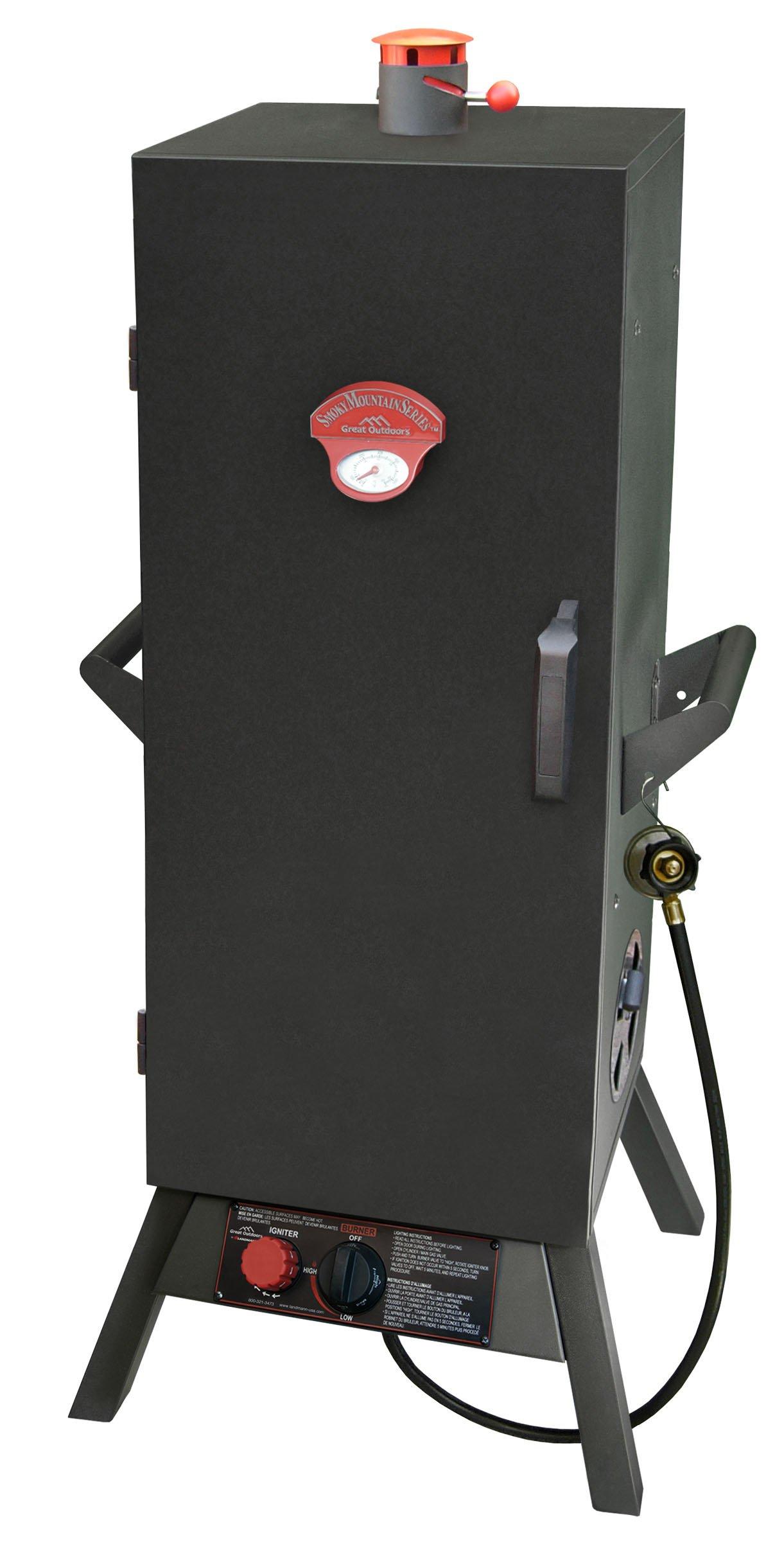 Landmann USA 3695GD Smoky Mountain Vertical Gas Smoker, 36-Inch