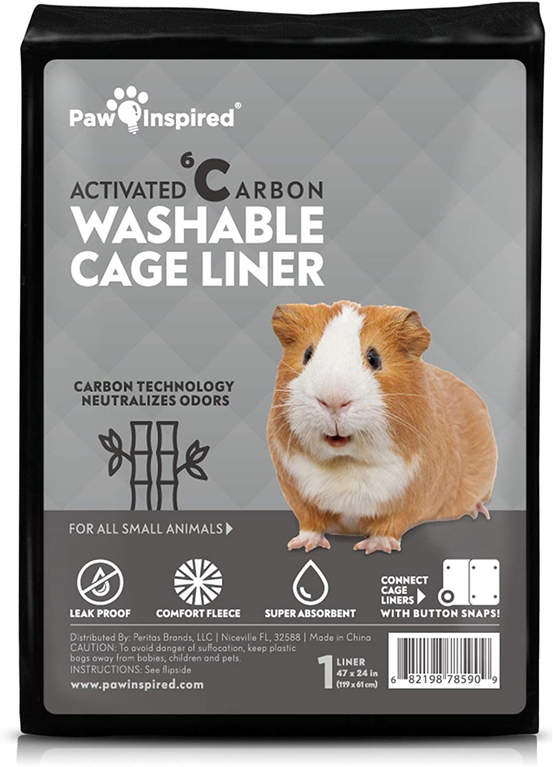 Small pet cage liner