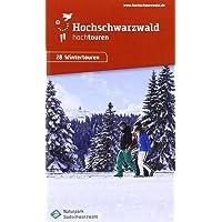 Winterkarte hochtouren Hochschwarzwald: Maßstab 1:35000 mit Winterwanderwegen, Schneeschuhtrails und Loipen, laminiert, wasser- und reissfest