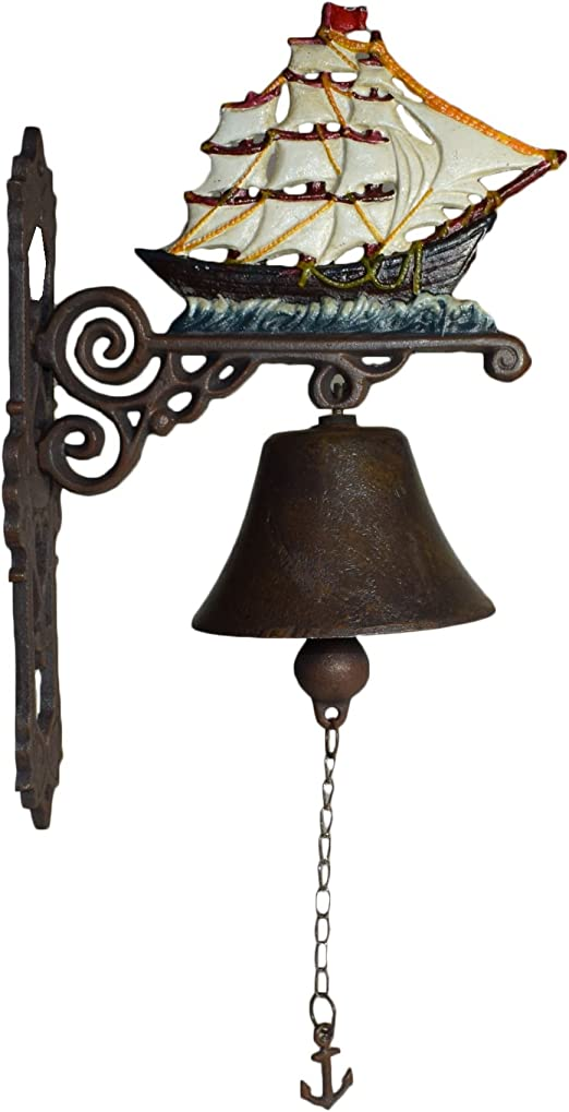 Cast Iron Wall Anchor Front Door Bell