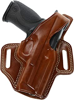 "product image for Galco Fletch High Ride Belt Holster for Kimber Colt 1911 5"" Tan RH FL212"