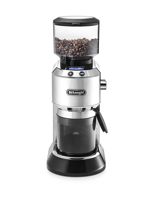 Delonghi Stainless Steel Dedica Coffee Grinder KG521M