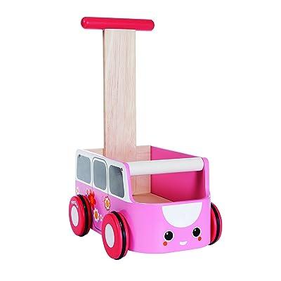 PLAN TOYS Van Walker, Pink: plan toys: Toys & Games