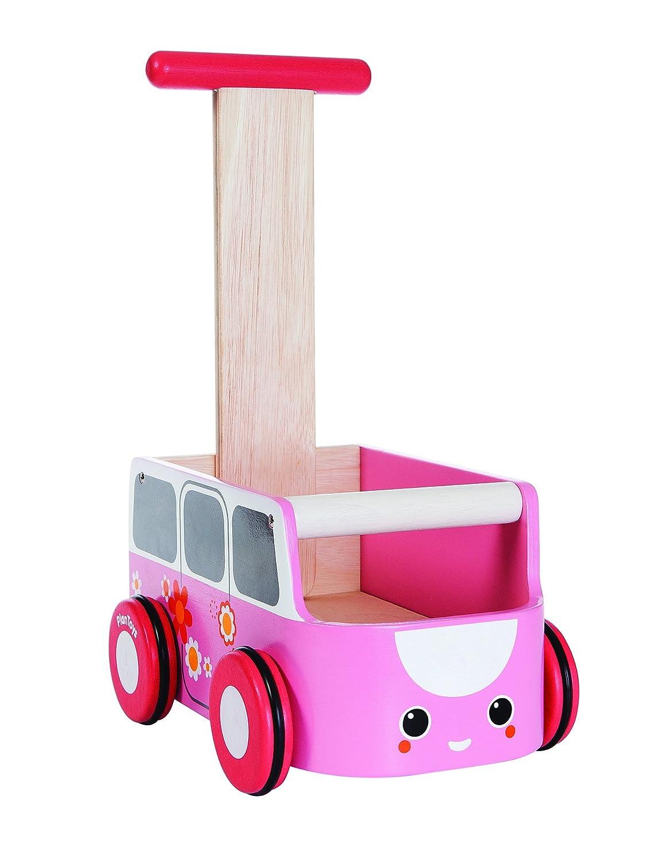 Lauflernwagen Holz Mädchen - Plan Toys Van Walker