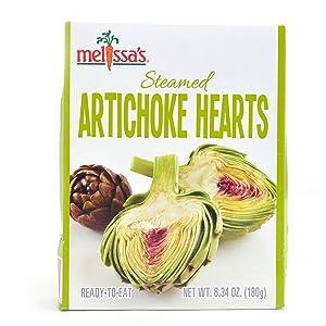 Steamed Artichoke Hearts, 6.34oz. (3 packages)