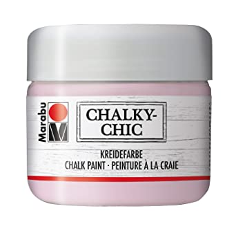 Marabu Chalky Chic Pot De Peinture 225 Ml Rose Poudre Amazon Fr