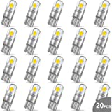 WEIMELTOY 194 LED Car Bulb 3030 Chipset 2SMD T10 194 168 W5W LED Wedge Light Bulb 1.5W 12V License Plate Light Courtesy…