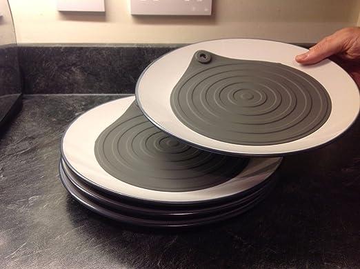 Calentadores de microondas placa de silicona 4 Pack - Calienta ...