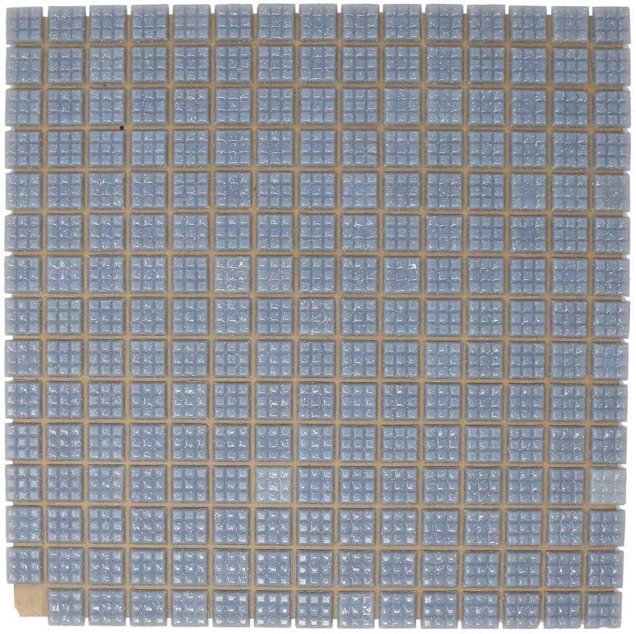Specialist Crafts Lot de 225 mosa/ïques en verre Gris 20 mm