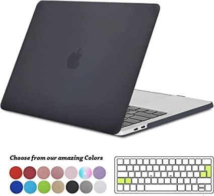 top design codes promo liquidation à chaud TECOOL Coque MacBook Pro 13 Pouces 2016 2017 2018 2019, Plastique Rigide  Étui + Clavier Coque de Protection pour MacBook Pro 13 avec/sans Touch Bar  ...