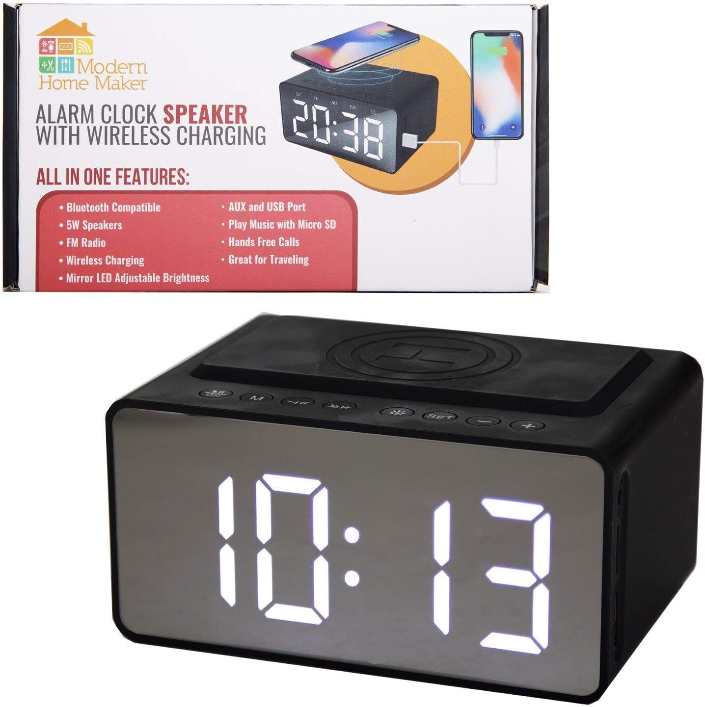 ModernHomeMaker - Reloj Despertador inalámbrico
