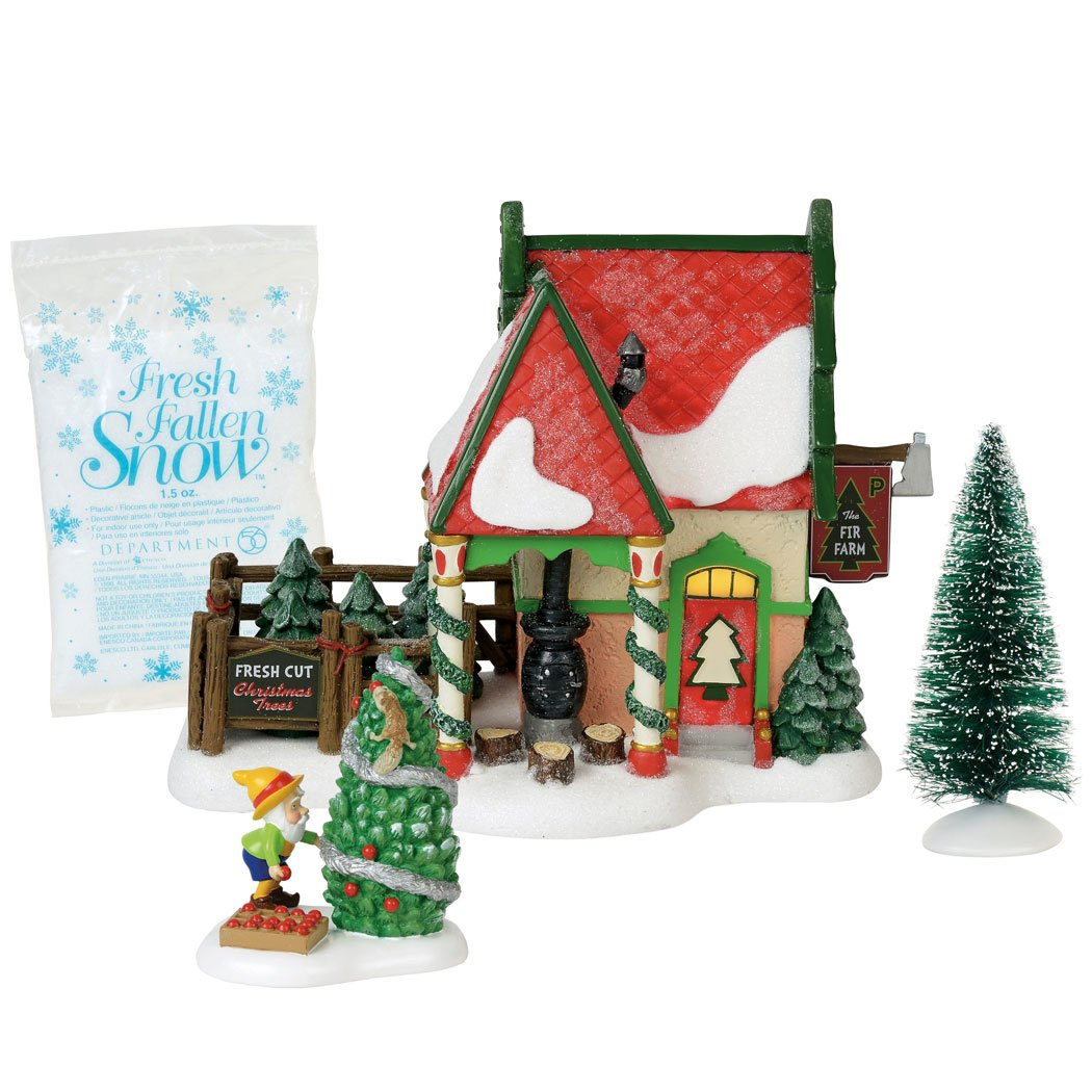 Department56 Department 56 North Pole Series The Fir Farm Lighted Buildings