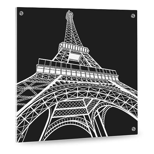 Sale. Cristal designersgroup Torre Eiffel Paris - Formato 50 ...