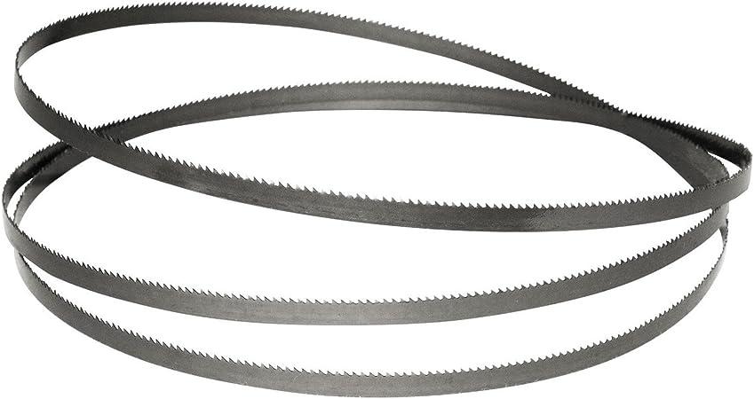 """56/"""" 6TPI Bandsaw Blades Carbon Steel Multi Pack 3 The Same Silverline 1425mm"""