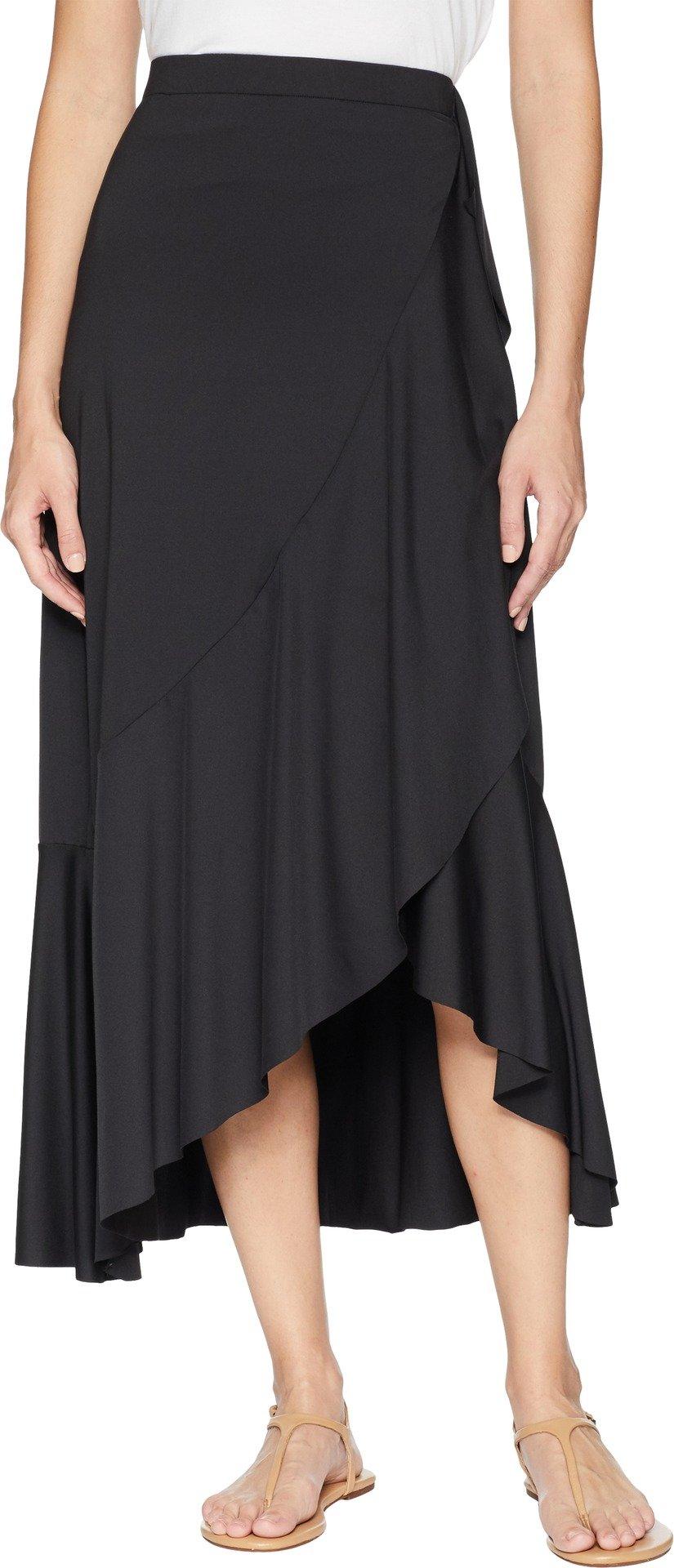 Roper Women's Faux Wrap Skirt Black Large