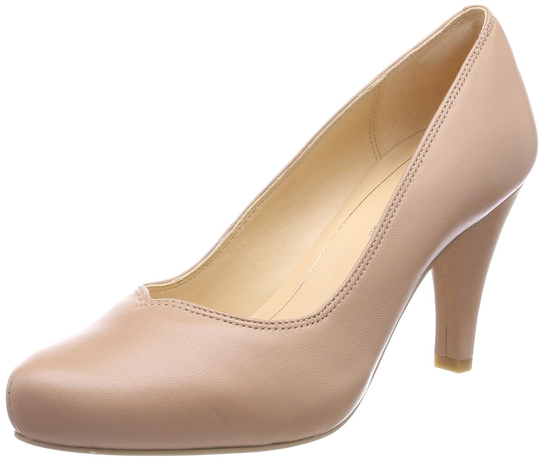 Clarks Dalia Rose, Zapatos de Tacón para Mujer 41 EU|Beige (Nude Leather)