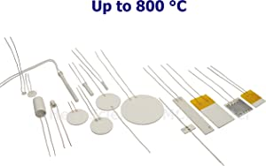 (2pcs) Heat Scientific MCH Metal Ceramic Heater   Many Sizes at Many Shapes   800 °C Max   Heating Element   Resistive Heater (Plate, L20W20T1.7 mm~1.5Ω)