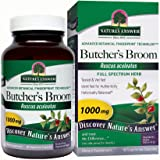 Nature's Answer Butcher's Broom Root, 90-Count