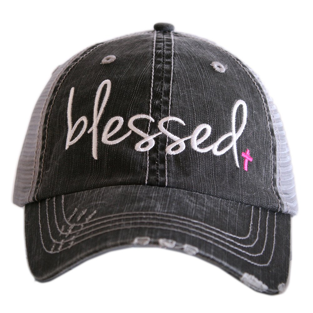 Blessed Women's Trucker Hats Caps by Katydid KDC-TC-189