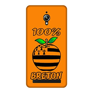 Carcasa Asus Zenfone Go Zc451tg - 100% Breton naranja ...