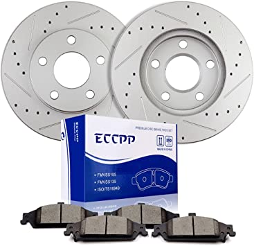 Front Rear Disc Brake Rotors Semi-Metallic Pads And Drum Kit 9Pc For Chevrolet Aveo Aveo5 Pontiac G3 Wave Wave5