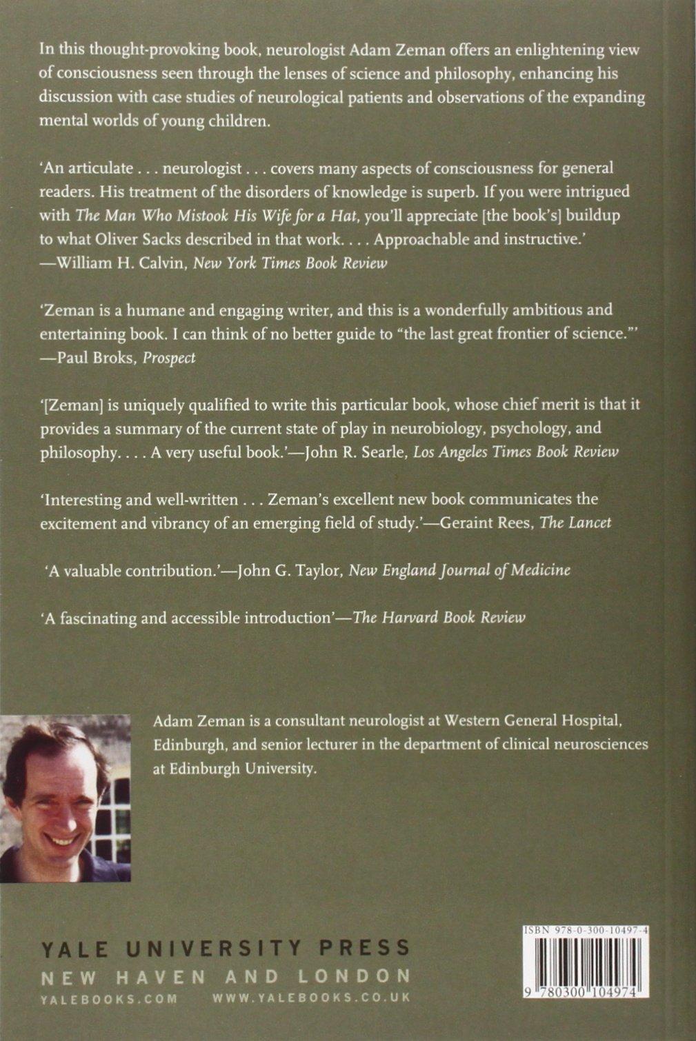 Consciousness: A User's Guide: Adam Zeman: 9780300104974: Amazon.com: Books