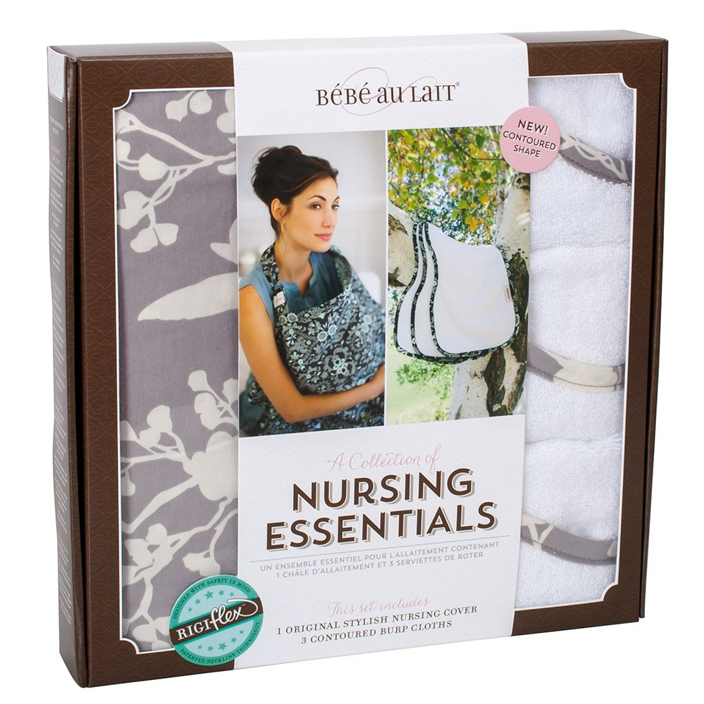 Bebe au Lait Premium Cotton Nursing Essentials Set, Nest
