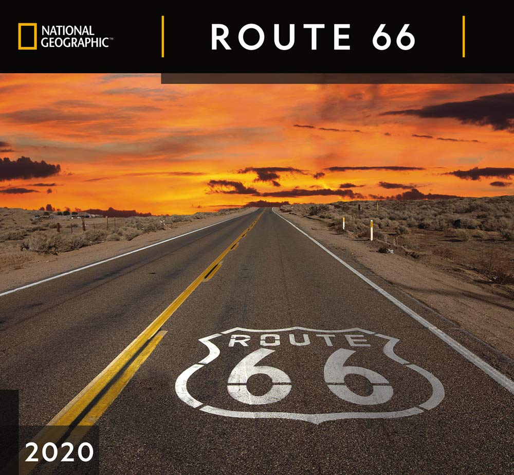 National Geographic Route 66 2020 Wall Calendar: Zebra Publishing