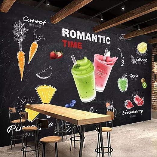 YBHNB 3D Mural Wallpaper, Mural de Pared Personalizado 3D Bebida ...