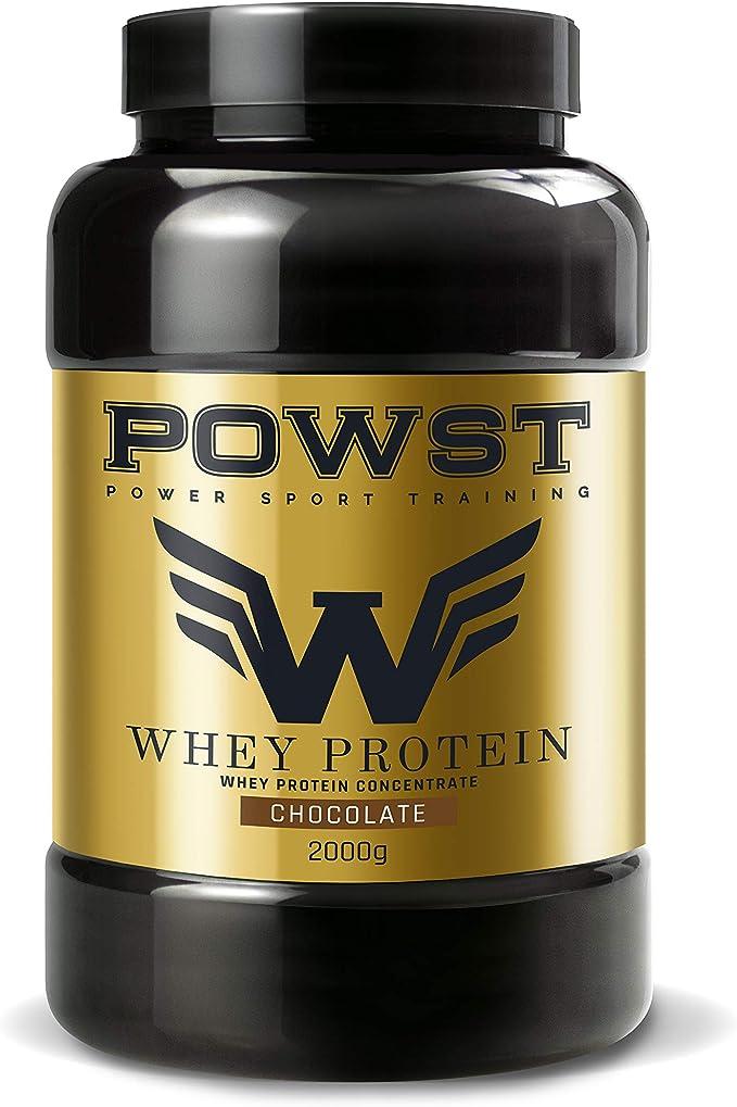 POWST Whey Protein 0G., Chocolate, 2 kg, 200 Gramo