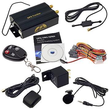 Localizador Tracker GPS GSM GPRS para Vehículos Coche Moto Control RemotoTK103B VG2