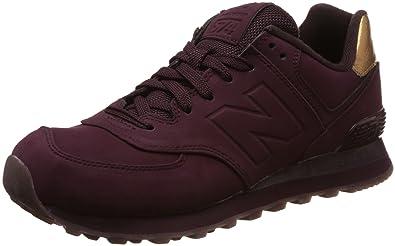 New Balance Kvinner 574 Smeltet Metall Pakke Fashion Sneaker P8rJbWEn