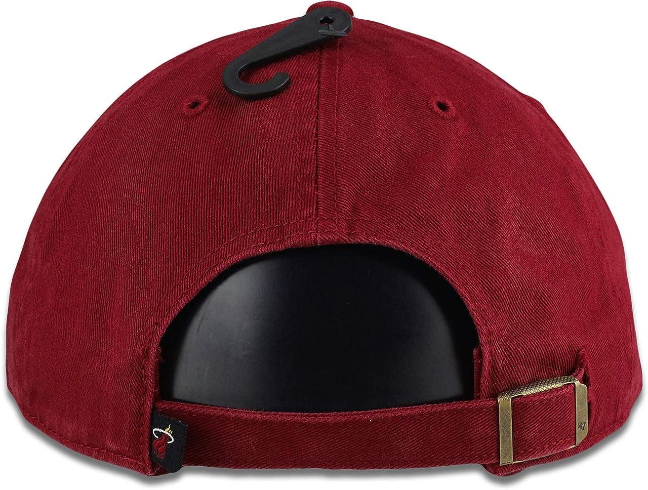 47 Miami Heat Clean Up Razor Red Adult Adjustable Hat