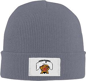 Amone Maryland Terrapin Winter Knitting Wool Warm Hat Black