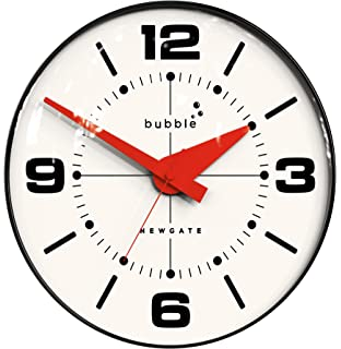 Bubble Wall Clock Black