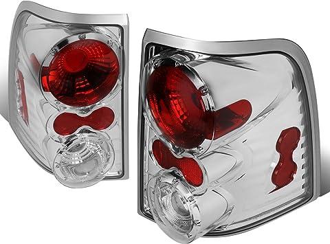 Spec-D Tuning LT-EPOR02-TM Ford Explorer Xlt Xls Nbx Chrome Housing Tail Lights