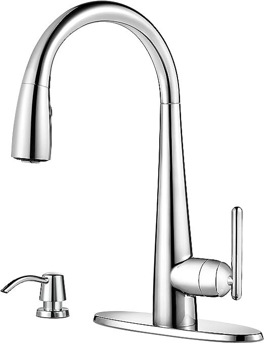 Price Pfister Gt529smc Lita Single Handle Pull Down Kitchen Faucet