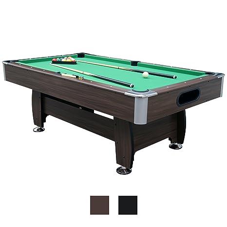 Jalano, tavolo da biliardo 7 piedi per gioco Snooker, in 2 colori ...