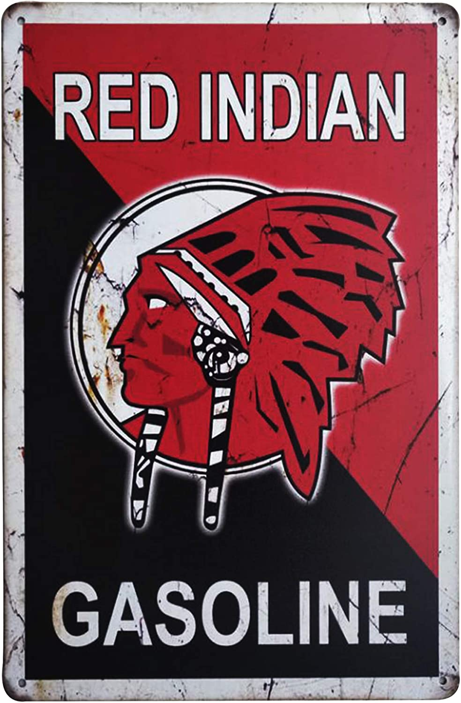 home man cave Indian Motor Oil metalsign for garage