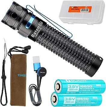 OLIGHT Baton Pro 2000 Lumen Portable Rechargeable Pocket Handheld EDC Flashlight