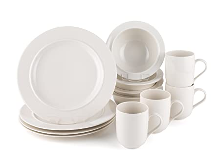 Alessi La Bella Tavola Porcelain 4 Place Setting Dining Set Amazon