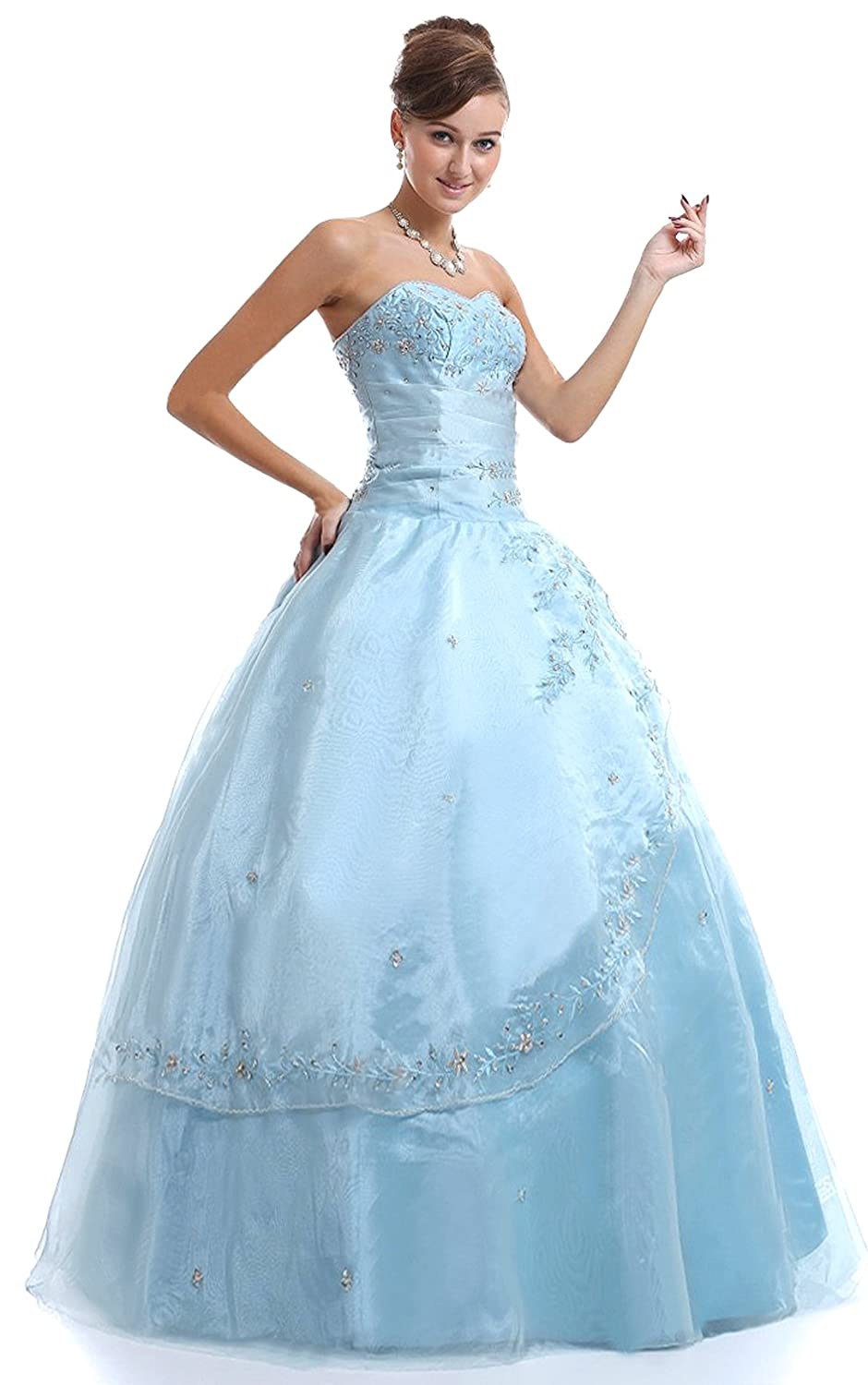 Prom Dress Style Quiz Quizzes For Prom 2014 Fashion Amazon Com Faironly M25 Light Blue Formal