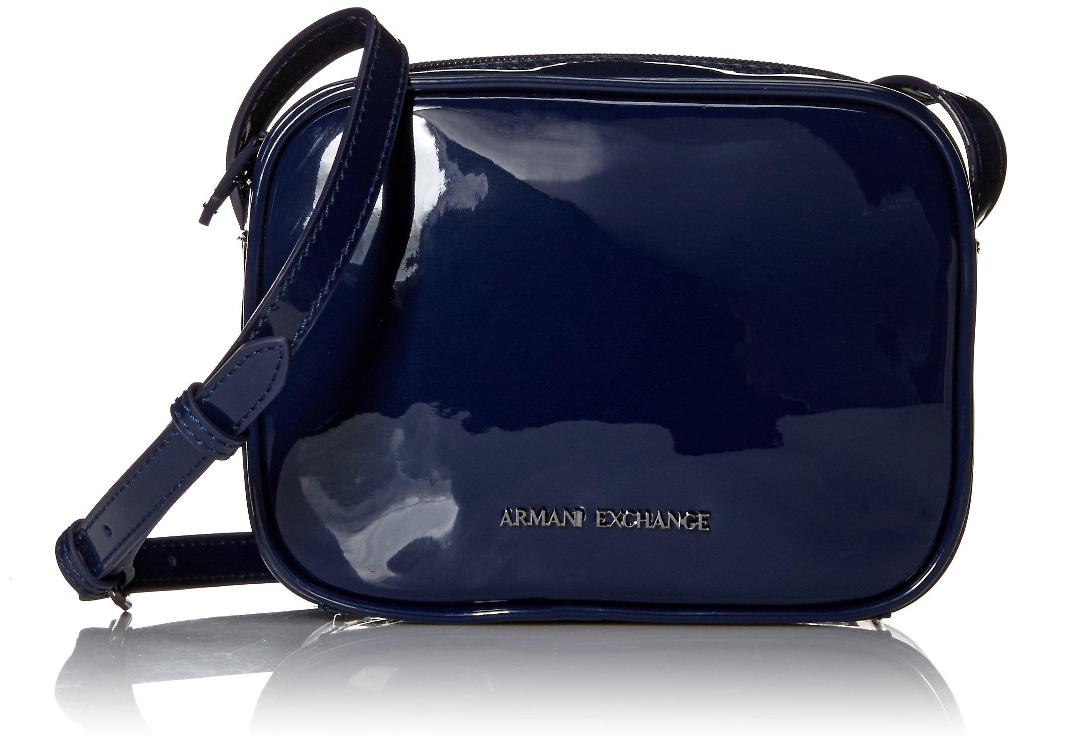 A|X Armani Exchange Small Crossbody Patent Bag, 37735