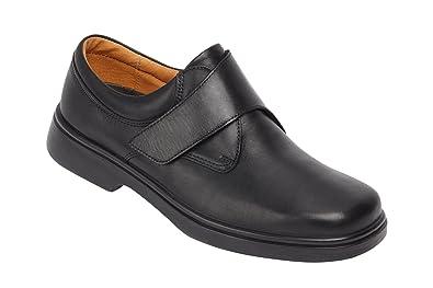 Pour Velcro Fit Homme Large 4e Largeur Extra Shoes Wide Fermeture f0IWpnqFUp