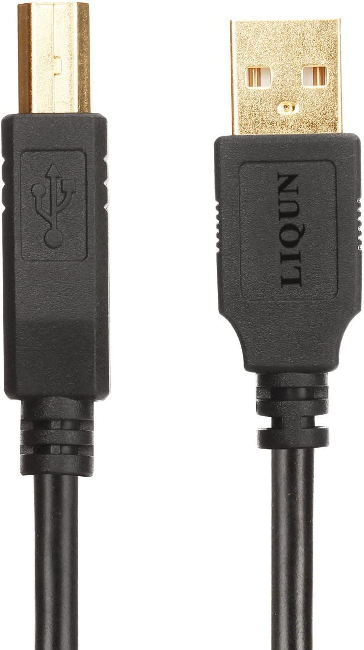 Amazon.com: liqun USB 2.0 a macho a B macho Cable de ...