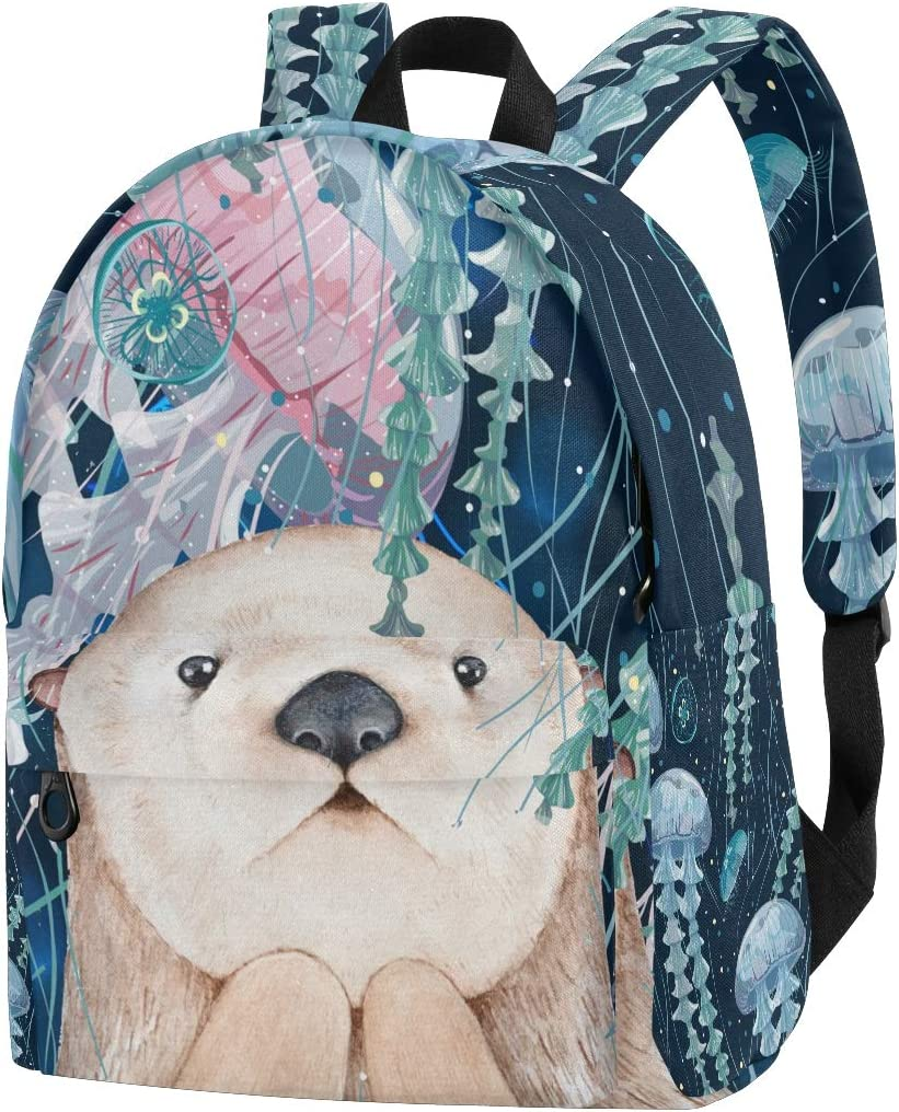 Yunshm Marine Creatures Such As Jellyfish Squid And Turtle Personalized Trolley Handbag Waterproof Unisex Large Capacity For Business Travel Storage