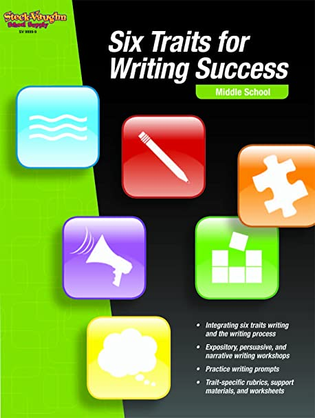 Math Worksheets fun middle school math worksheets : Six Traits for Writing Success: Reproducible High School: STECK ...