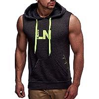 Leif Nelson Gym LN06260 heren fitness t-shirt vest trainingsshirt