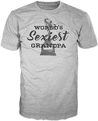Fsd Playera con Texto en inglés WorldS Sexiest Grandpa